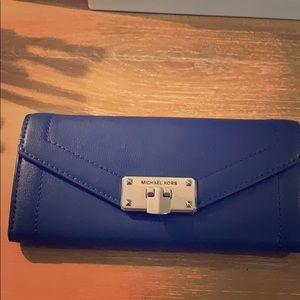 Cobalt blue Michael Kors wallet!! 😊